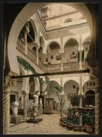 Algier - Museumseingang